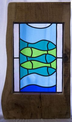 Fish stained glassby hunnybunny glass