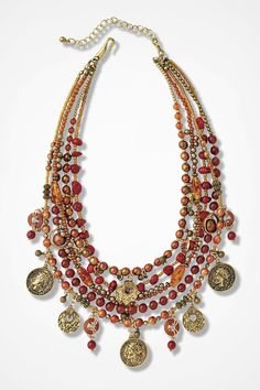 Spice Market Necklace - Coldwater Creek