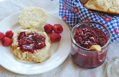 Strawberry, Raspberry, & Vanilla Bean Quick Jam