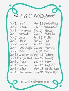 photography challenge 30 image - Google Search