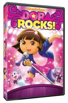 DVD Review - Dora the Explorer: Dora Rocks! (plus giveaway!)