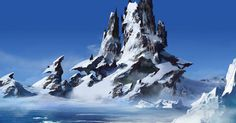 Environment Concept Art, Environment Design, Fantasy Landscape, Landscape Art, Amazing Drawings, Amazing Art, Inspirational Artwork, Matte Painting, High Fantasy