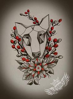 English Bullterrier tattoo