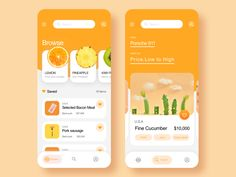 This is an app that makes you feel fresh designed by Crystal. Connect with them on Dribbble; App Ui Design, Ui Design Mobile, Android App Design, Interface Design, Flat Design, User Interface, Design Design, Web Responsive, Design Responsive