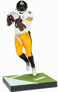 73cd4585b Brown will be featured in an all-NEW pose and emblazoned in his Pittsburgh  Steelers away jersey.