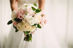 Perfect soft color boquet. | Photo by Crystal Stokes Photography