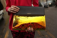 The stunning Emporio Armani Clutch _ has been snapped by style hunters and featured in renowned publications such as Vogue UK, Elle China, New York Magazine, Vogue Australia, Vogue Germany and Vogue China. With such an impressive track record, it's no wonder that it's rapidly becoming the summer's IT accessory.