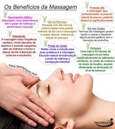 Os benefícios da massagem