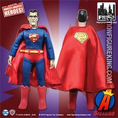 SUPER FRIENDS; 8 INCH ACTION FIGURES; SERIES 1 /& 2 ; 8 FIGURES IN TOTAL POLYBAG