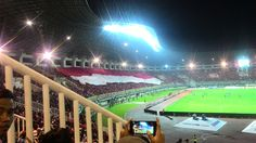 The AFF cup 2016 final between INDONESIA v THAILAND