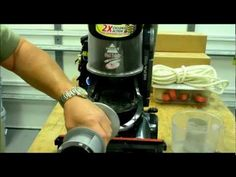 Give Your Vacuum Cleaner a Spring Cleaning