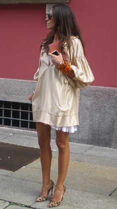 shades of nude - Asst. Fashion Editor for Vogue, Viviana