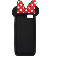 3D Minnie Mouse iPhone 5/5s Case ❤ liked on Polyvore featuring accessories, tech accessories, phone cases, phones, cases, iphone y clothing accessories