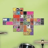Found it at Wayfair - Art of Board Square Giant Wall Decal