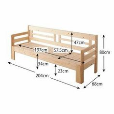 Outdoor Furniture Plans, Diy Furniture Easy, Diy Garden Furniture, Wooden Pallet Furniture, Diy Furniture Projects, Diy Wood Projects, Furniture Design, Diy Wood Bench, Wooden Sofa Designs