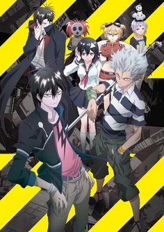 Blood Lad!! Cool anime, I highly recommend it :)