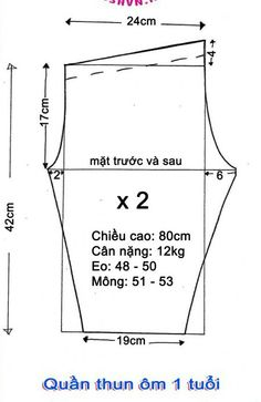 cach chon size quan ao vay dam cho be theo do tuoi can nang chieu cao 17 Easy Sewing Patterns, Baby Patterns, Refashion Dress, Sewing Circles, Unicorn Dress, Baby Pants, Pattern Drafting, Pants Pattern, Baby Sewing