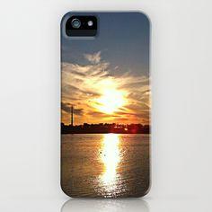Lake Sunset iPhone Case by Rachel Winkelman - $35.00