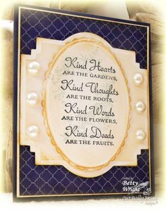 Kind Hearts! by gbedwright - Cards and Paper Crafts at Splitcoaststampers