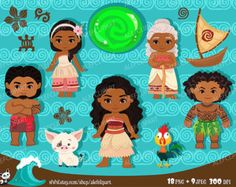 La Polinesia princesa Moana descarga inmediata PNG por araqua