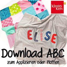 klimperklein: Download ABC zum Baby-Buch