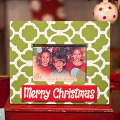 Glory Haus Merry Christmas Two Layer Picture Frame | Wayfair
