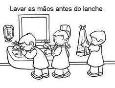 Educação Infantil: Regras ou Combinados Preschool Birthday, Picture Comprehension, What Is Parenting, Preschool Coloring Pages, Visual Cue, Classroom Rules, School Decorations, Feelings And Emotions, Hygiene