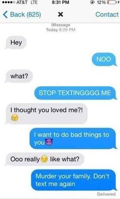 Or less playful talk: | 22 Perfect Ways To Respond To A Text From Your Ex