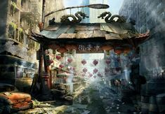 Urban Survivors - Chinatown by *atomhawk on deviantART