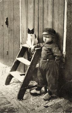 Roger Laute, Dutch boy and the Cat.