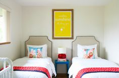 double take, twin bed ideas