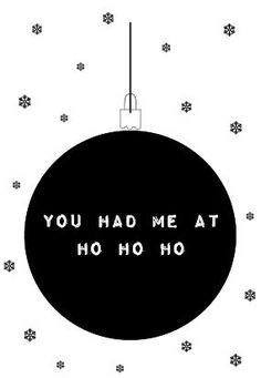 Een poster helemaal in Kerstsferen.
