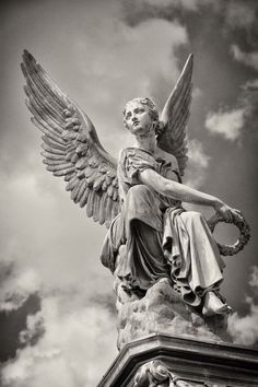 Ark Angel Gabriel is my guardian angel and I believe she's a strong nurturing women.