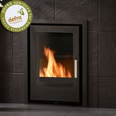 Buy Aarrow i400 Multi Fuel / Woodburning Inset - Stoves Are Us