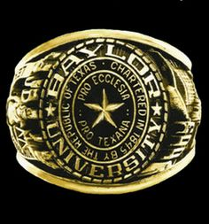 Information about Baylor Alumni Programs -- the official class ring, travel, Fling, alumni by choice, reading and life-long learning. Waco Tx, Baylor University, Green And Gold, Class Ring, Give It To Me, Traditional, Personalized Items, Interesting Stuff, Rings