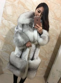 Fetish Fashion, Fur Fashion, Chinchilla, Asian Woman, Asian Girl, Fabulous Fox, Fur Accessories, Mink Fur, Collar And Cuff