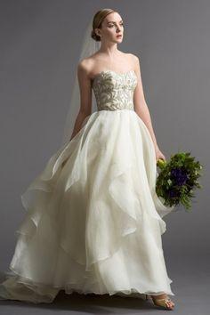 Watters Brides Daniela Gown  #watters #wedding #weddingdress www.pinterest.com/wattersdesigns/