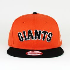 San Francisco Giants Orange  amp  Black (Green Under) SNAPBACK New Era . 32f7eea2bfa