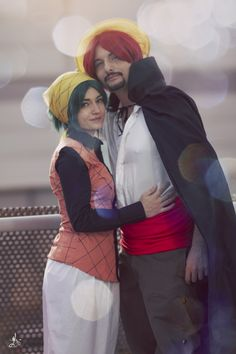 Cosplayers: Tony Strife & Shankie Rose // Ph. Another Point of View // #cosplay #onepiece #shanks #makino