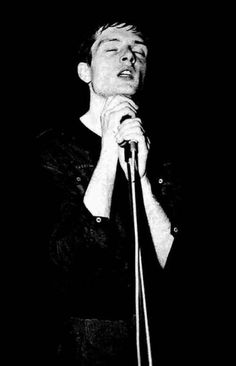 Joy Division.  Great but depressing band.  Ian Curtis killed himself on the eve of their breaking big in the US. Sad.