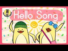 "The Singing Walrus is excited to present ""Hello Song"", a fun and engaging song for young learners to start the day in the classroom or at home. It focuses on. Kids Songs With Actions, Music Lessons For Kids, Singing Lessons, Kids Singing, Kindergarten Songs, Preschool Songs, Hello Song For Kids, Hello Hello Song, Good Morning Song"