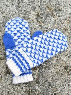 Nordic Yarns and Design since 1928 Blue And White Gloves, Knitting Socks, Knit Socks, Mittens, Design, Breien, Fingerless Mitts, Fingerless Mittens