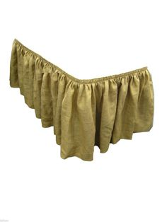 2 Burlap Table Skirts 17ft Skirting 100% Jute 17' Vintage Wedding Banquet Buffet #ElenaLinens