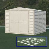 Found it at Wayfair Supply - DuraMate 8ft. W x 5ft. D Vinyl Storage Shed