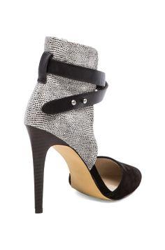 Laney Heel in Black & White