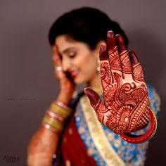 "Photo from Shivam Studio Petlad ""Portfolio"" album Mehendi Photography, Indian Wedding Couple Photography, Wedding Couple Poses Photography, Bride Photography, Photography Magazine, Indian Bridal Photos, Indian Wedding Poses, Wedding Mehndi Designs, Henna Designs"