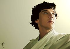 The Morning Light (Sherlock) Canvas Art Print. €10.00, via Etsy.