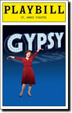 Gypsy Playbill Covers on Broadway - Information, Cast, Crew, Synopsis and Photos - Playbill Vault