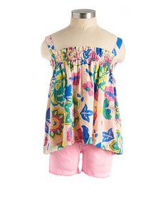 Flower Tank - View All - Categories - girls | Peek Kids Clothing