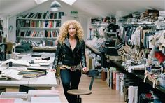 Kelly Hoppen at her London studio and offices